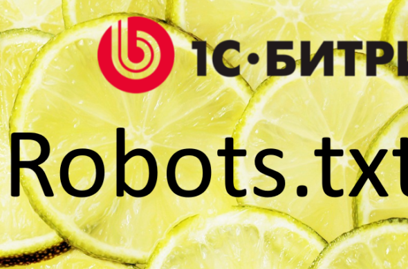 Robots.txt для 1С Bitrix